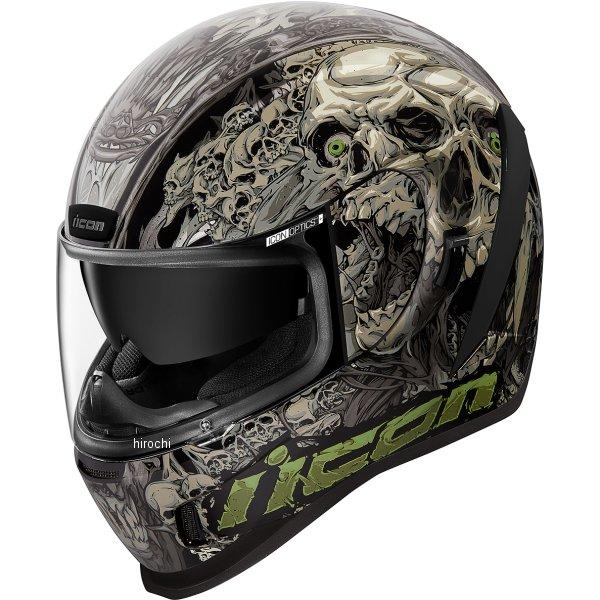アイコン ICON フルフェイスヘルメット AIRFORM PARAHUMAN 黒 XLサイズ 0101-13067 JP店