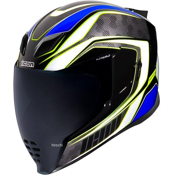 アイコン ICON フルフェイスヘルメット AIRFLITE RACEFLITE 青 LGサイズ 0101-13200 JP店