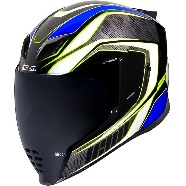 アイコン ICON フルフェイスヘルメット AIRFLITE RACEFLITE 青 2XLサイズ 0101-13202 JP店