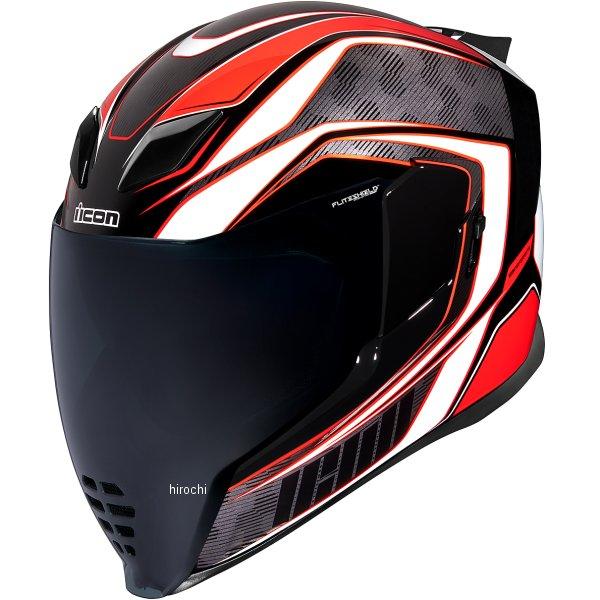 アイコン ICON フルフェイスヘルメット AIRFLITE RACEFLITE 赤 SMサイズ 0101-13212 JP店