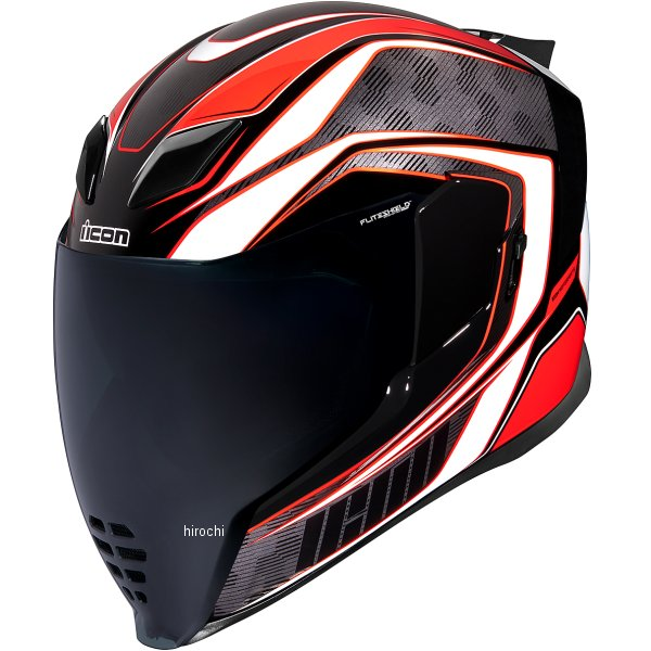 アイコン ICON フルフェイスヘルメット AIRFLITE RACEFLITE 赤 3XLサイズ 0101-13217 JP店