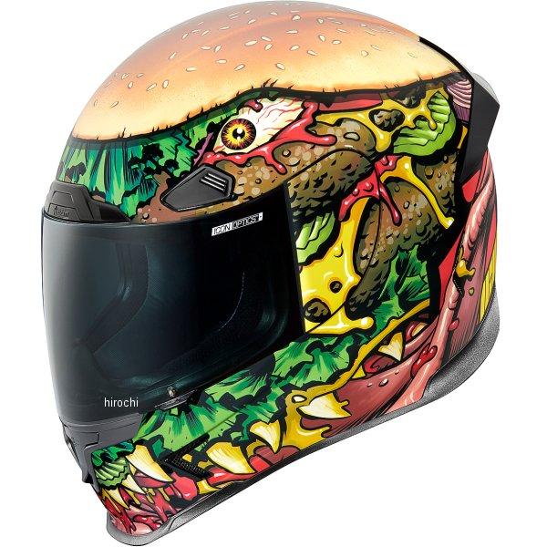アイコン ICON フルフェイスヘルメット AIRFRAME PRO FASTFOOD XSサイズ 0101-13221 JP店