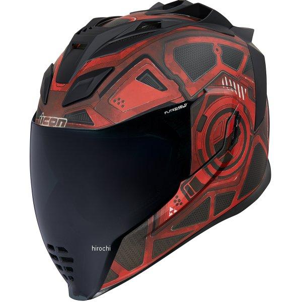 アイコン ICON フルフェイスヘルメット AIRFLITE BLACKCHAIN 赤 XSサイズ 0101-13282 JP店