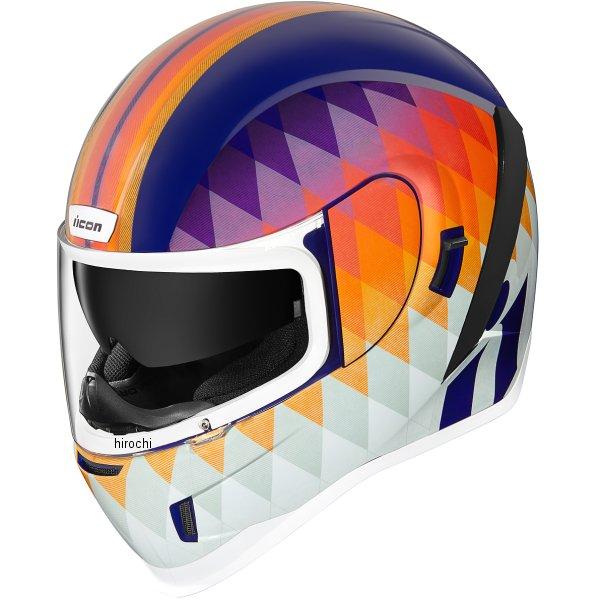アイコン ICON フルフェイスヘルメット AIRFORM HELLO SUNSHINE 白 XLサイズ 0101-13293 JP店