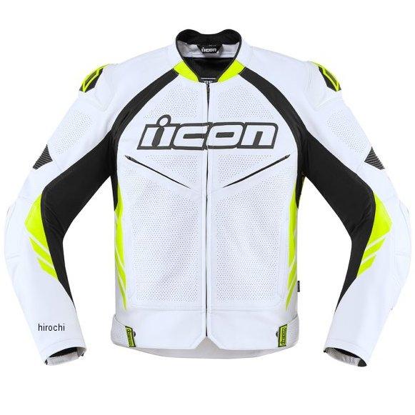 アイコン ICON 2020年春夏モデル ジャケット HYPERSPORT2 PRIME 白/HIVZ 50サイズ 2810-3634 JP店