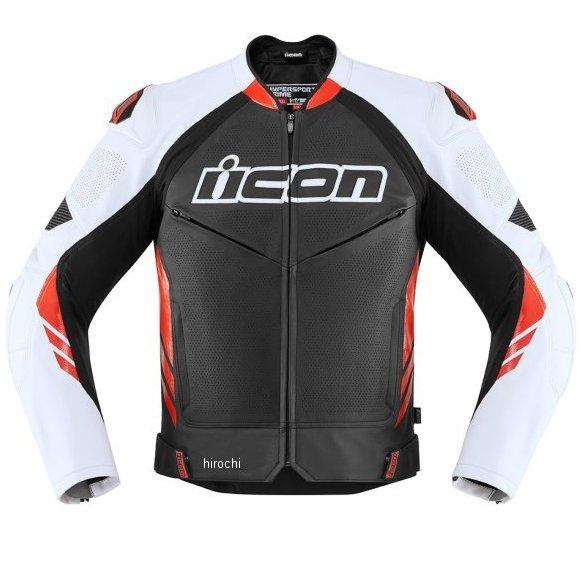 アイコン ICON 2020年春夏モデル ジャケット HYPERSPORT2 PRIME 黒/赤 48サイズ 2810-3641 JP店