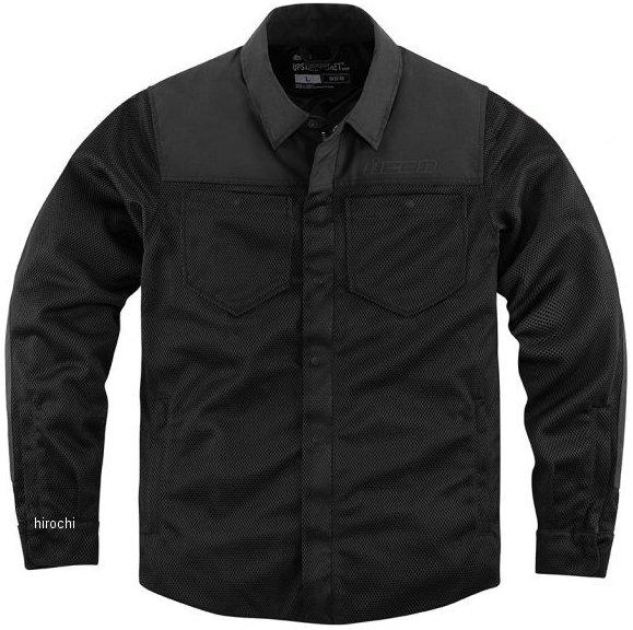 アイコン ICON 2020年春夏モデル シャツ UPSTATE RIDING 黒 2XLサイズ 2820-5088 JP店