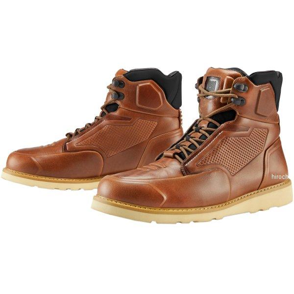 アイコン ICON 2020年春夏モデル ブーツ BRIGAND ブラウン 11.5サイズ 3403-1049 JP店