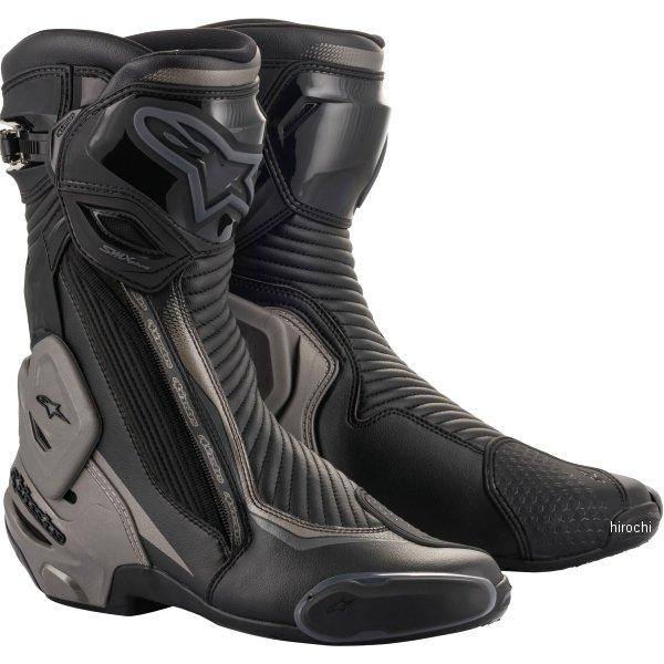 【メーカー在庫あり】 アルパインスターズ Alpinestars 2020年春夏モデル シューズ SMX PLUS V2 BOOT 黒/ダークグレー 43サイズ 8059175187438 JP店