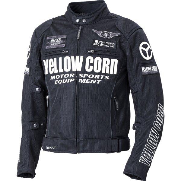 イエローコーン YeLLOW CORN 2020年春夏モデル メッシュジャケット 黒/アイボリー LLサイズ YB-0102 JP店