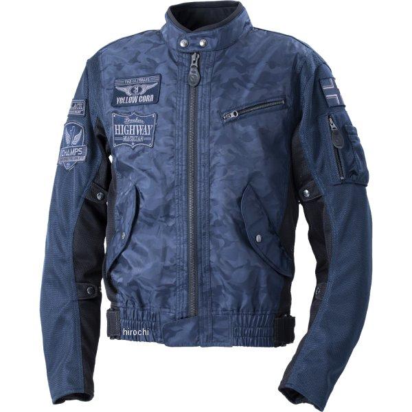 イエローコーン YeLLOW CORN 2020年春夏モデル コンビメッシュジャケット ネイビーカモフラージュ Lサイズ YB-0103 JP店