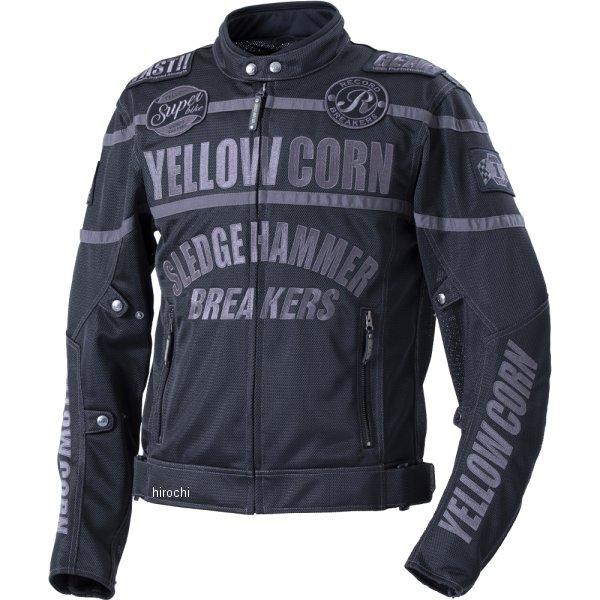 イエローコーン YeLLOW CORN 2020年春夏モデル メッシュジャケット 黒/黒 3Lサイズ YB-0108 JP店