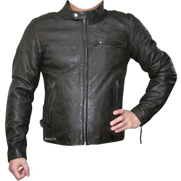 モトフィールド MOTO FIELD 2020年春夏モデル シングルビンテージライダースジャケット ダークブラウン 3Lサイズ MF-LJ147 JP店
