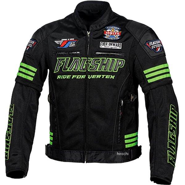 フラッグシップ FLAGSHIP 2020年春夏モデル タクティカルメッシュジャケット 黒/緑 Lサイズ FJ-S203 JP店