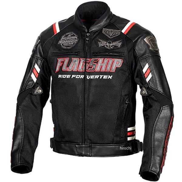 フラッグシップ FLAGSHIP 2020年春夏モデル バーテックスメッシュジャケット 赤 Lサイズ FJ-S206G JP店