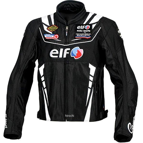 エルフ elf 2020年春夏モデル ヴィットリアエステートジャケット 黒/白 Lサイズ EJ-S105 JP店