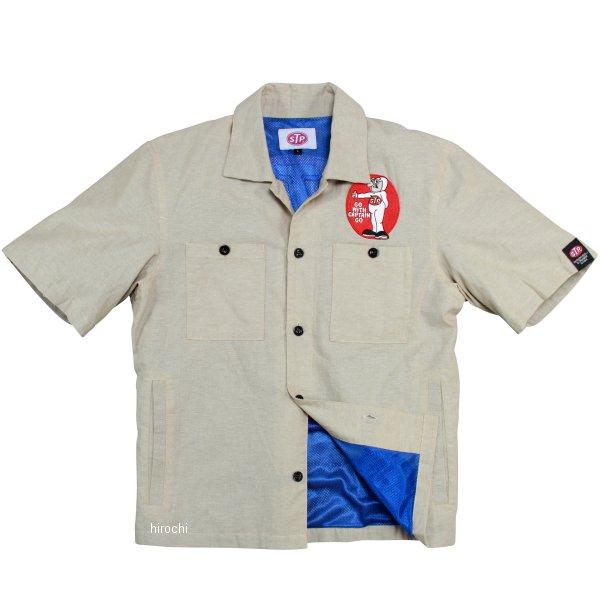 エスティーピー STP 2020年春夏モデル ワークシャツ ベージュ Mサイズ STP20104S JP店
