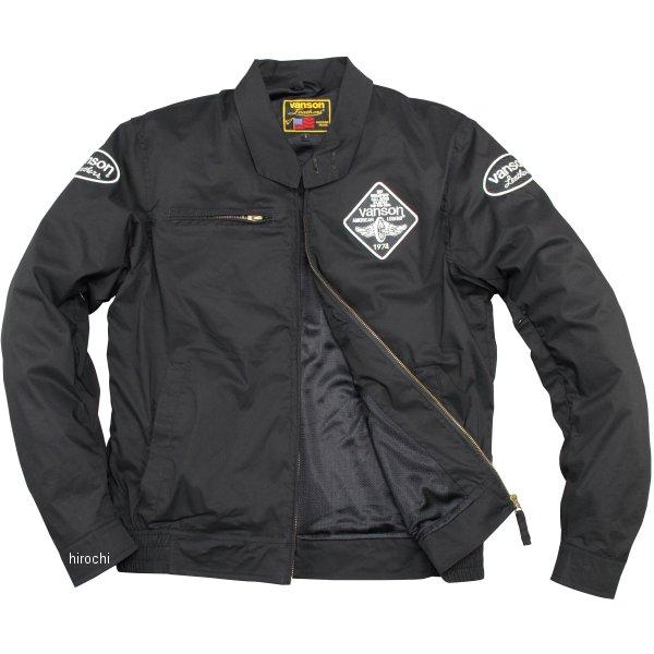 バンソン VANSON 2020年春夏モデル ナイロンジャケット 黒/白 Mサイズ VS20105S JP店