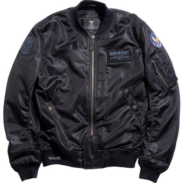 ヒューストン HOUSTON 2020年春夏モデル メッシュジャケット MA-1 DRAGON MESH M/C 黒 XLサイズ HTVA2041SBKX JP店