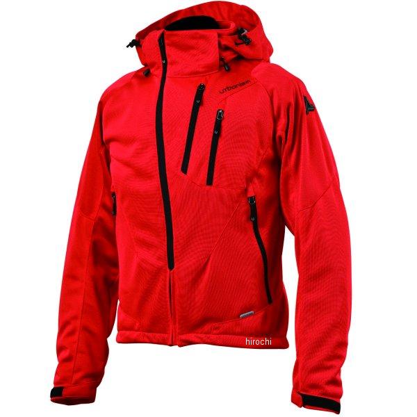 アーバニズム urbanism 2020年春夏モデル フードメッシュジャケット 赤 LLサイズ UNJ-079 JP店