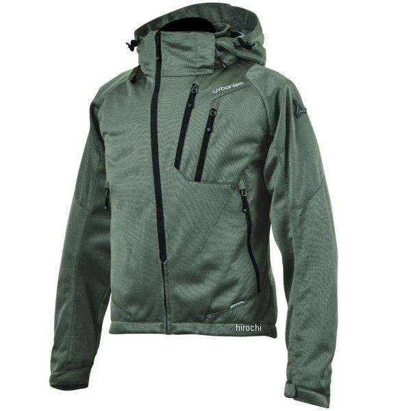 アーバニズム urbanism 2020年春夏モデル フードメッシュジャケット ソイルグレー 3Lサイズ UNJ-079 JP店