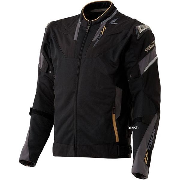 RSJ332 RSタイチ 2020年春夏モデル アームド ハイプロテクション メッシュジャケット 黒/ゴールド XLサイズ RSJ332BK02XL JP店