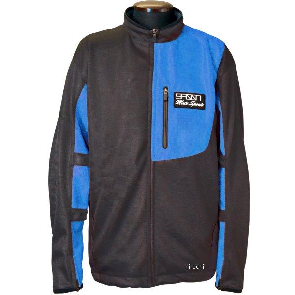 スプーン SPOON 2020年春夏モデル メッシュジャケット 黒/青 Mサイズ SPB-617 JP店
