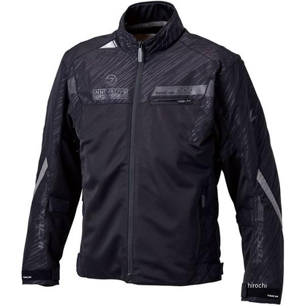 【メーカー在庫あり】 RSJ325 RSタイチ 春夏モデル レーサー メッシュジャケット リフレクティブ ブラック Lサイズ RSJ325BK01L JP店
