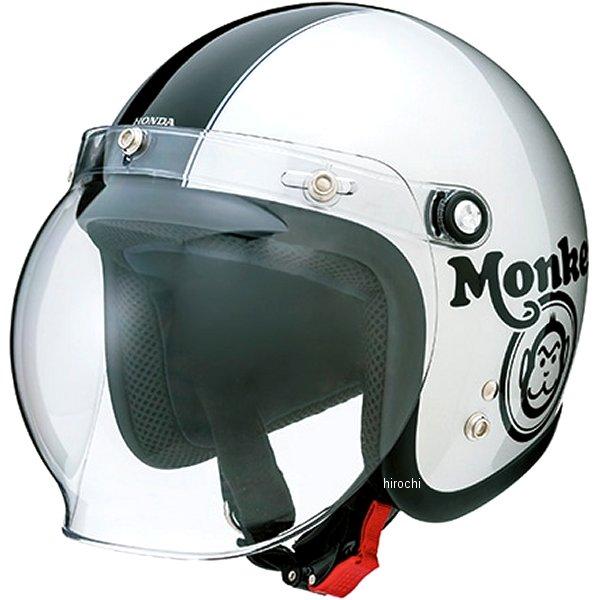 ホンダ純正 2020年春夏モデル Monkey モンキー ジェットヘルメット シルバー/黒 Lサイズ 0SHGC-JC1C-S JP店