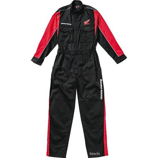 ホンダ純正 2020年春夏モデル レーシングピットスーツLS(長袖) 黒 Lサイズ 0SYTN-14B-K JP店