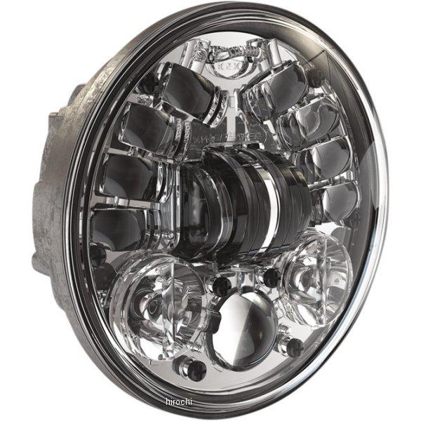 【USA在庫あり】 JWスピーカー J.W. Speaker LED ヘッドライト 5.75インチ アダプティブ2 H4 クローム 2001-1780 JP店