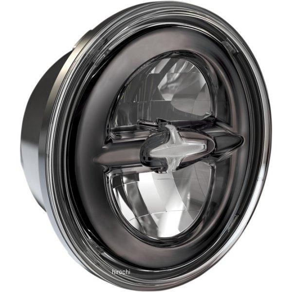 【USA在庫あり】 DRAG LED ヘッドライト 5.75インチ リフレクタースタイル H4 黒 2001-1791 JP店