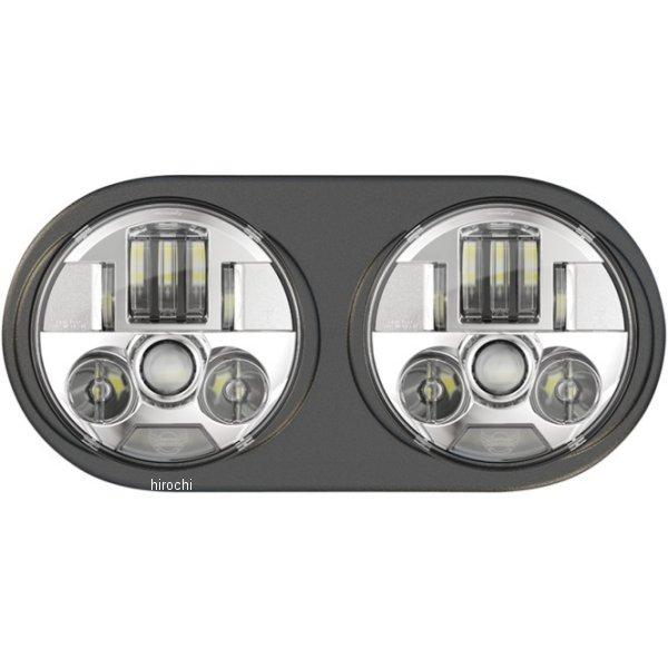 【USA在庫あり】 カスタムダイナミクス LED ヘッドライト ProBEAM FLTR クローム 2001-1835 JP店