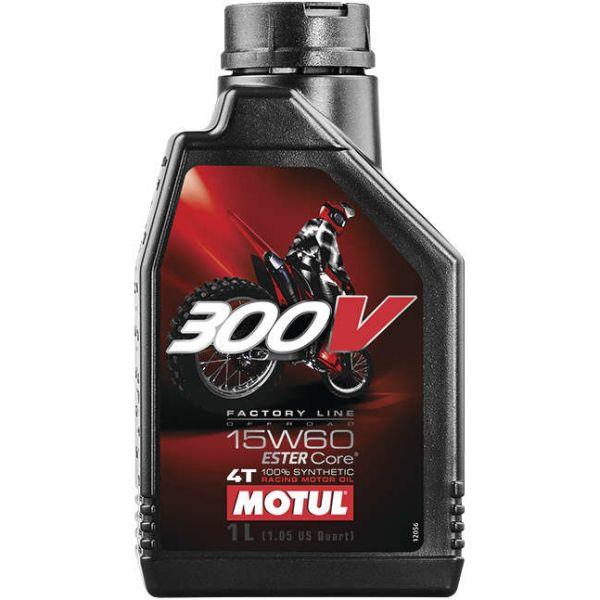 通販 USA在庫あり モチュール MOTUL 300V 新発売 ファクトリーライン オフロード 4スト 104137 JP店 1リットル エンジンオイル 15W60 11104611