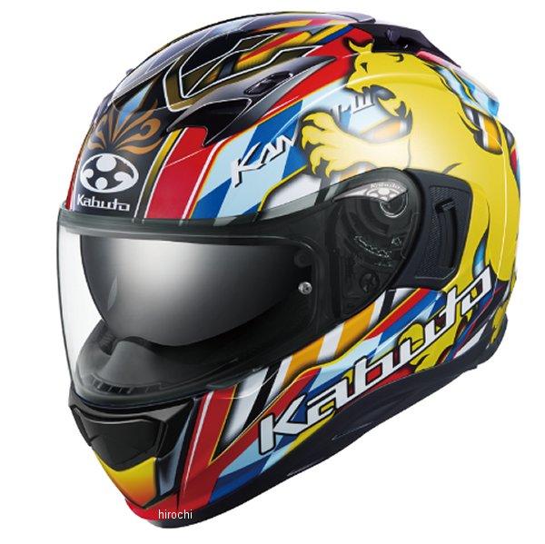 オージーケーカブト OGK KABUTO フルフェイスヘルメット KAMUI-3 LEO レッドイエロー XLサイズ 4966094596958 JP店