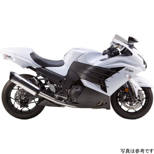 ツーブラザーズレーシング フルエキゾースト ブラックシリーズ M-2 06年以降 ZX-14R カーボン 005-1490107V-B JP店