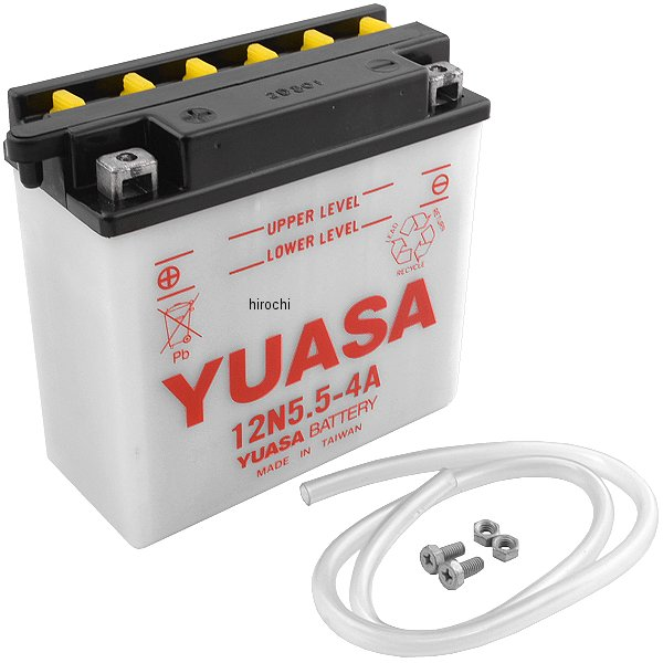 USA在庫あり 休日 ユアサ YUASA 特売 バッテリー JP店 Y12N5.5-4A 開放型 12N5.5-4A