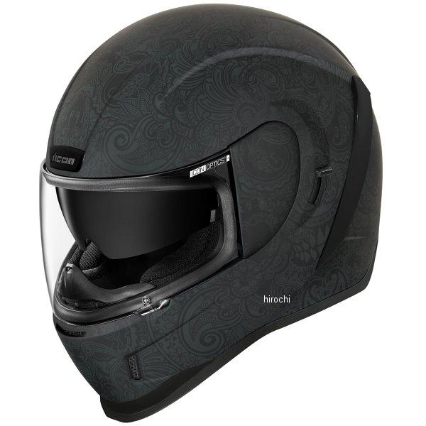 アイコン 信用 ICON フルフェイスヘルメット AIRFORM 当店一番人気 CHANTILLY 0101-13410 JP店 黒 XLサイズ
