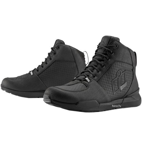 2020年秋冬モデル JP店 ブーツ ウォータープルーフ 12サイズ 黒 アイコン 3403-1062 ターマック ICON