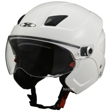 SOLDAD リード工業 システムヘルメット X-AIR ソルダード 白 フリーサイズ (57cm-60cm) SOLDAD-WH JP店