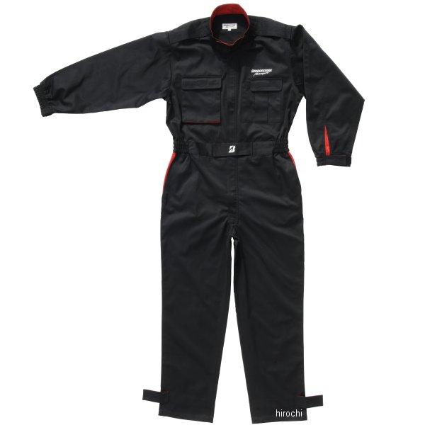 【メーカー在庫あり】 ブリヂストン BRIDGESTONE ピットクルースーツ ブリヂストン モータースポーツ 黒 Lサイズ 5160 9579 JP店