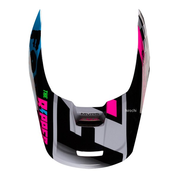 フォックス 注目ブランド FOX ヘルメットバイザー V1 いつでも送料無料 ツァール用 22973-097-S ライトグレー Sサイズ JP店