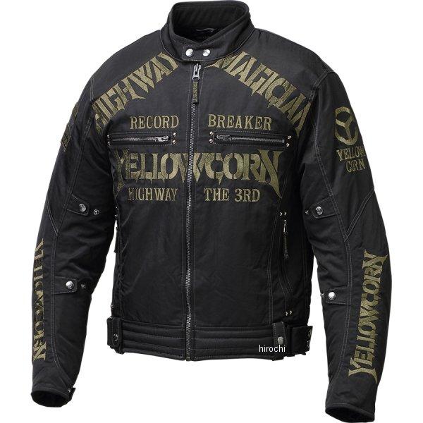イエローコーン YeLLOW CORN 2021年秋冬モデル ウィンタージャケット 新品 送料無料 黒 3Lサイズ JP店 YB-1305 ゴールド ランキングTOP5