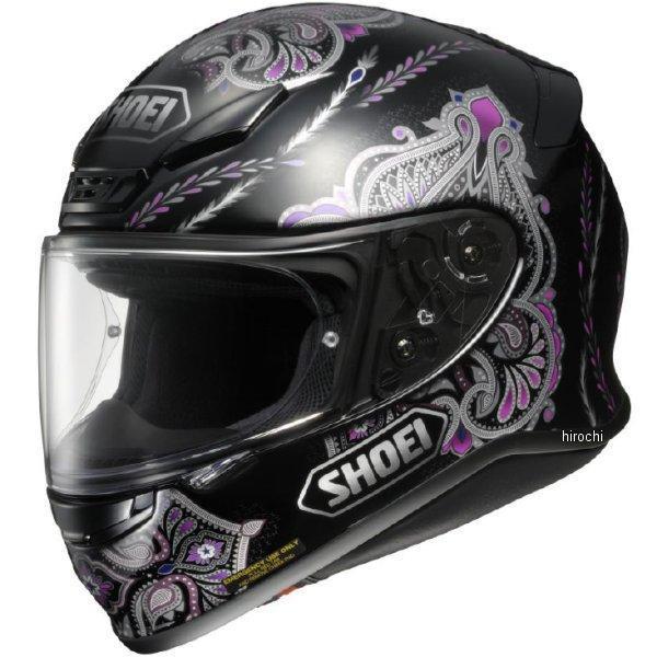 ショウエイ SHOEI フルフェイスヘルメット DUCHESS TC-5 黒/紫 Lサイズ 4512048442576 JP店