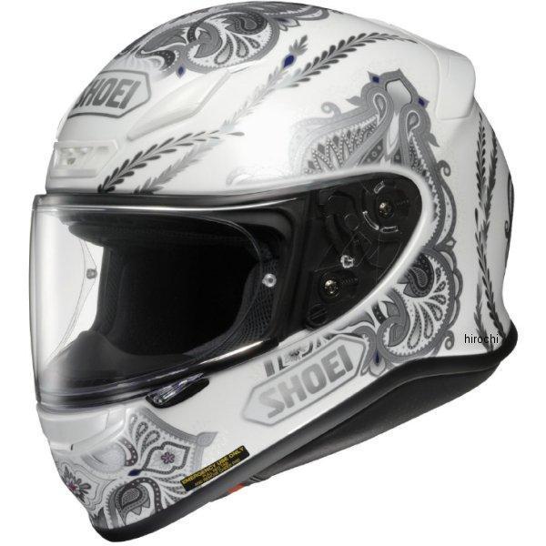 【メーカー在庫あり】 ショウエイ SHOEI フルフェイスヘルメット DUCHESS TC-6 白/シルバー Lサイズ 4512048442613 JP店