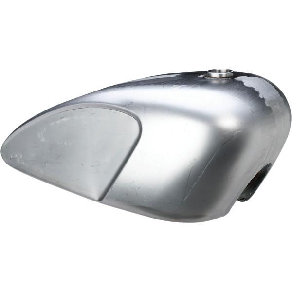 【USA在庫あり】 DRAG ガソリン タンク レガシー 3.8ガロン 未塗装 ガスキャップ付属 EFI用 0701-0766 JP