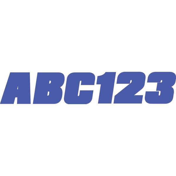 USA在庫あり ハードライン HARDLINE ステッカー 76mm JP ●日本正規品● 146枚入り BLU350EC お得セット 青