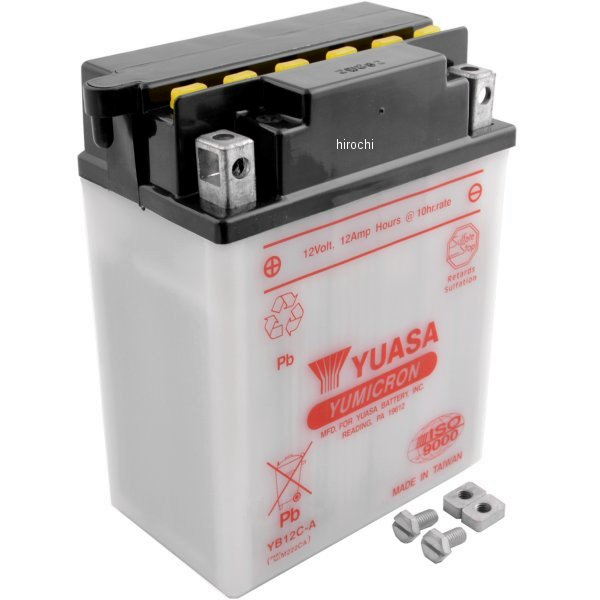 【USA在庫あり】 ユアサ バッテリー 開放型 YB12C-A 581126 JP店