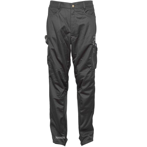 ラフ&ロード バイカーZIPメッシュパンツ ルーズフィット 黒 MWサイズ RR7501LFBK2 JP店