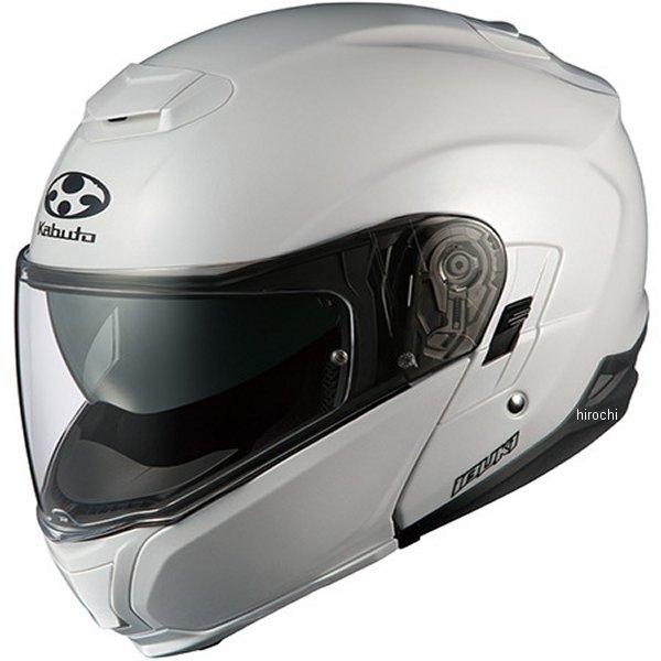 【メーカー在庫あり】 オージーケーカブト OGK Kabuto ヘルメット イブキ パールホワイト XLサイズ(61cm-62cm) 4966094550783 JP店